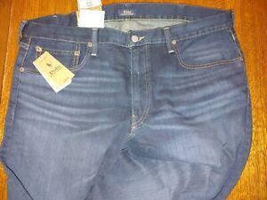 Polo Ralph Lauren Men's 38 x 30 Sullivan Slim Stretch Jeans Blue $148 denim new