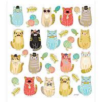Creativ, Sticker Sheet Funny Cats , 16,5 x 15 cm, 32 Stickers, 1 Sheet