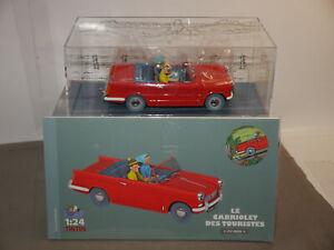 TIM & STRUPPI Tintin Triumph Herald Modellauto 29952 Moulinsart 1/24 L