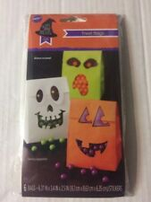 Wilton Scary Good Treat - Treat Bags With Stickers New 6 In Pack