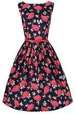 Ro Rox Dahlia 1950's Pin Up Vintage Retro Flamingo Tea Jungle Flare Party Dress