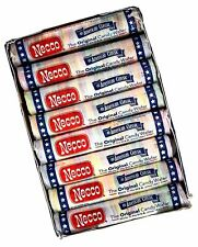 Necco Assorted Original Candy Wafers 8 Rolls weighing 2.02 ounces each roll.