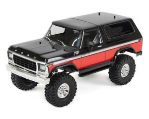 Traxxas TRX-4 1/10 Trail Crawler Truck w/'79 Bronco Ranger XLT Body (Red) w/TQi