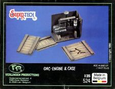 Verlinden 1:35 GMC-Engine & Case Multi-Media Diorama Accessory #524