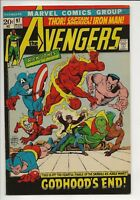 Avengers #97 VF Very Fine 8.0 Marvel Comics - Part IX Godhood's End!