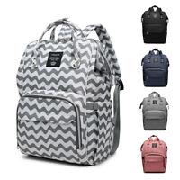 LEQUEEN Waterproof Baby Diaper Bag Mummy Maternity Nappy Travel Handbag Backpack