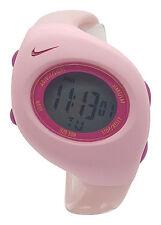 New Nike Kids Triax Junior WR0017 Pink Magenta Digital Sports Chronograph Watch
