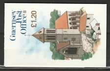 Guernsey Michel MH 31 the St. Barnabas Church Booklet