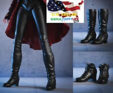 "1/6 Women Boots A for Avengers Scarlet Witch 12"" Female Figure Hot Toys PHICEN"