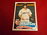 🔥2020 Nick Madrigal Topps Update #1 PROSPECT #P-24 Chicago White Sox!