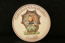 "Goebel Hummel Collectors' Club Member 6"" Plate Hum690 Spec Ed #2 W.Germany 1978"