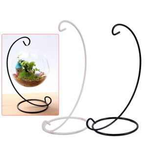1PCS Candle Holder Iron Metal Hanging Stand Candlestick Landscape Hanging S_MO