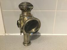 Antique Vintage Joseph Lucas Candle Lamp for Bicycle. Circa 1900.
