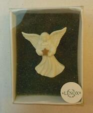 "Lenox Ceramic Angel with Star 2"" Pin"