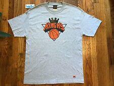 2007 Vintage UNDRCRWN King Of New York SS Shirt Knicks Grey Mens Size XL