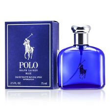 NEW Ralph Lauren Polo Blue EDT Spray 2.5oz Mens Men's Perfume