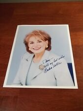 BARBARA WALTERS ABC NEWS HAND Signed AUTOGRAPHED ORIGINAL 8X10 Photo THE VIEW