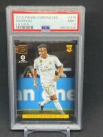 2019 Panini Chronicles La Liga Soccer #375 Rodrygo RC Rookie Real Madrid PSA 9