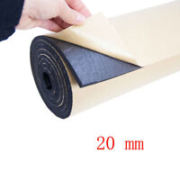 2Roll 20mm Car Sound Proofing Deadening Vehicle Insulation Closed 50 X 100cm