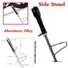 Motorcycle Single Side Stand Leg Kickstand Supporter CNC Aluminum Alloy Black