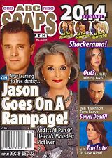 ABC Soaps In Depth Magazine - December 22, 2014  General Hospital Year In Review