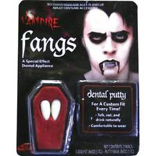 Vampire Fangs Dracula Caps Fake Teeth Halloween Adults Fancy Dress Accessory