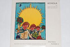 Deutsch Klasse 4 - Schallplatte für den Unterricht - LP Schola (S 32)