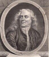 Portrait XVIIIe Gaspard Duchange Graveur Académie Royale Sculpture 1786