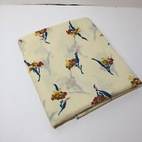"1 & 7/8 Yards Floral Fabric 44"" wide Peter Pan Cotton"