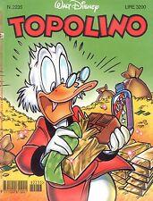 fumetto TOPOLINO WALT DISNEY numero 2235