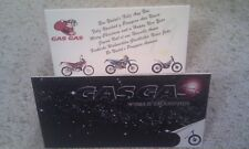 2 x Genuine new original old stock GasGas Christmas card