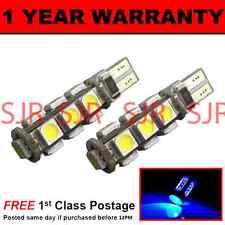W5W T10 501 CANBUS ERROR FREE BLUE 13 LED SIDELIGHT SIDE LIGHT BULBS X2 SL101806