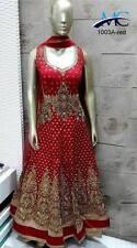 INDIAN ANARKALI SALWAR KAMEEZ SUIT ETHNIC DESIGNER BOLLYWOOD PARTY DRESS WEDDING