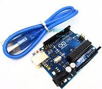 NEW UNO R3 ATmega328P Arduino Compatible Board + USB Cable