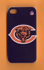 CHICAGO BEARS Rigid 1 Piece Snap-on Case for iPhone 4 / 4S (Design 12)+STYLUS