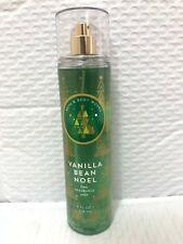 Bath Body Works Vanilla Bean Noel Fine Fragrance Mist X3 Bottles 8 FL Oz