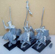 Warhammer Fantasy/edad de Sigmar Bretonnian Metal Caballeros del comando Reino