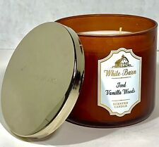 "White Barn ""Iced Vanilla Woods"" Scented Candle"