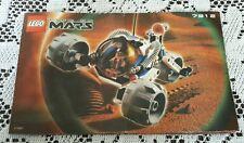 Legos Legoland Set # 7312 T-3 Trike Life On Mars Instructions Manual Only!
