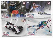 2018 Topps U.S. Olympic & Paralympic Team DID YOU KNOW Insert Set (17 cards)