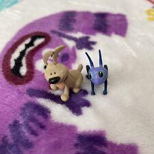 R Disney Mini Figure Toy Bundle Mulan Cartoon Little Brother & Crickee