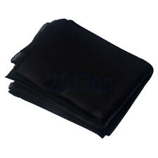 50x 140cm Black Stereo Audio Speaker Mesh Grill Cloth Fabric For Prevent Dust CG