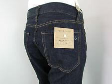 New RAG & BONE RB11X Classic STRAIGHT LEG Men Jeans SZ 31 IN CLEAN DARK BLUE