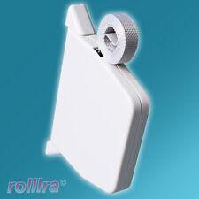 Mini Aufschraubwickler Gurtwickler Aufputz mit Gurtband für Rolladen Rollladen