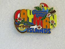 CAYMAN ISLANDS,Hard Rock Cafe Pin,GREETINGS FROM Series LE