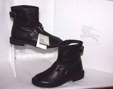Burberry Kids Mini Atholl moto boots euro 29 us 11.5 toddler  retail 450.00