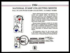 SC98 Souvenir Card 1984 National Stamp Collecting Month