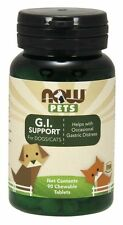 NOW Pets G.I Support for Cats & Dogs - 90 Chewable Tablets