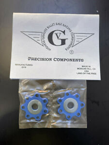 Von Giese VG BMX DROPOUT SAVERS CNC Alloy Washer Made in USA BLUE SE GT CW BOSS