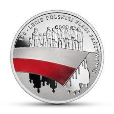 Poland / Polen 2019 - 10zl 100th Anniversary of the National Flag of Poland